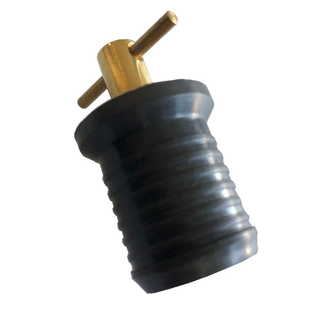 Perfeclan Metal Twist Drain Plug Leakproof Seal Boat Marine Coolers Utility