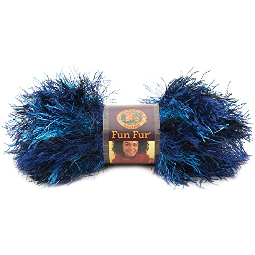 Lion Brand Fun Fur Yarn - 9