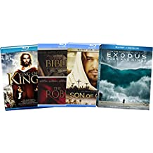 Faith & Family 5-Film Ultimate Collection - King of Kings/ The Bible: In the Beginning/ The Robe/ Exodus: Gods and Kings/ Son of God