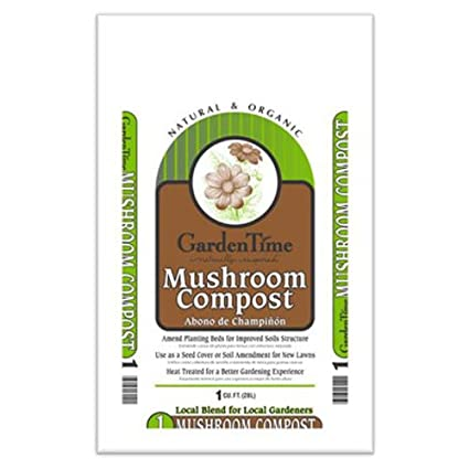 Gro Well Brands Cp Cuft, Mushroom Compost, an Ideal Soil Amendment & for Planting