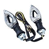 04 honda 125 accessories - 2 PCs 11 LED Hollow Design Motorbike Turn Signals Indicators Blinker Amber Light For Honda Kawasaki Yamaha Suzuki