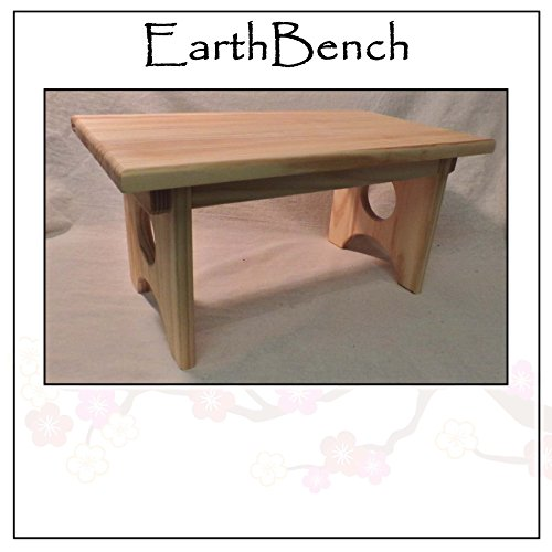 Solid Pine Personal Child's Stool or Bench By EarthBench - M