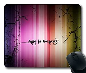 Age is Beauty POP Masterpiece Limited Design Oblong Mouse Pad by Cases & Mousepads