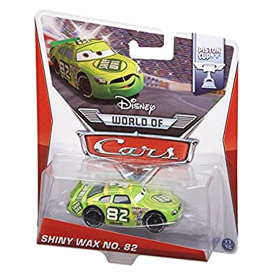 Disney Pixar Cars Shiny Wax Diecast Vehicle: Toys & Games