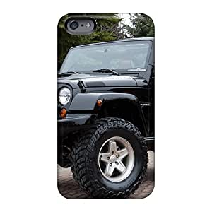 Anti-Scratch Hard Phone Cases For Apple Iphone 6 Plus With Customized Vivid Jeep Wrangler Image LauraFuchs