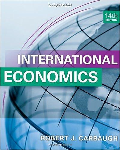 International economics robert j carbaugh 9781133947721 amazon international economics 14th edition fandeluxe Choice Image