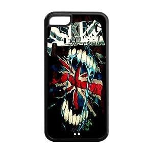 LJF phone case the Case Shop- Customizable Asking Alexandria iPhone 5C TPU Rubber Hard Back Case Cover Skin , i5cxq-214