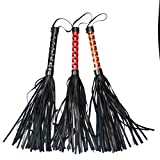 3 Colors Leather Spanking Fetish Whip Flogger Sex Toys for Couples Sexy Policy Adult Games Flirt Erotic Pr