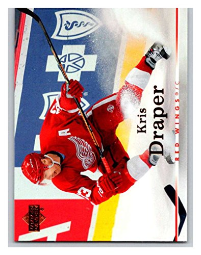2007-08 Upper Deck #3 Kris Draper Red - Red Wings Kris Draper