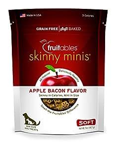 Amazon.com : Fruitables Skinny Minis Apple Bacon, 5oz