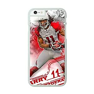 NFL Case Cover For Apple Iphone 6 Plus 5.5 Inch White Cell Phone Case Arizona Cardinals QNXTWKHE1380 NFL Phone Personalized Plastic