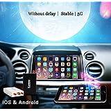 5g Écran Full HD Wifi Share Téléphone de voiture Navigation par/Miroir Compatible Airplay Miracast DLNA AllShare WiFi ACC Support IOS Android