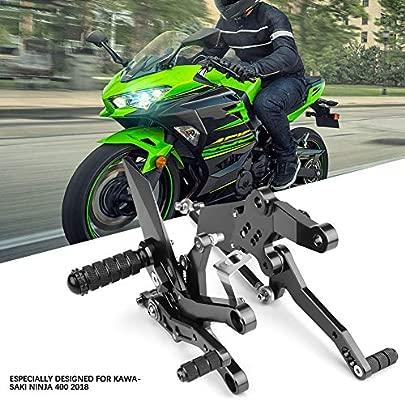 Reposapiés para motocicleta, aleación de aluminio para ...