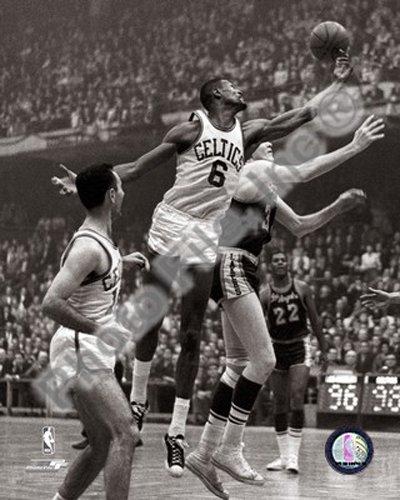ビルラッセルBoston Celtics NBAアクション写真8 x 10 # 7   B00D2YA9IE