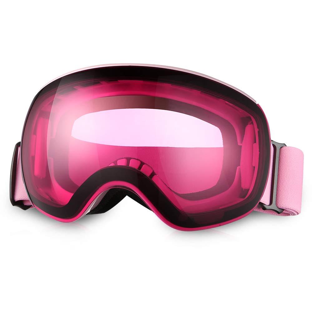 Femme et Enfant /Plus de Lunettes de Ski//Snowboard pour Homme Asommet OTG Masque de Ski/