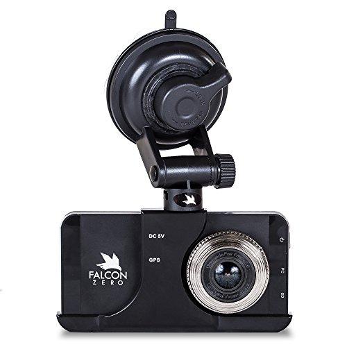 Falcon Zero Touch PRO HD Dash Cam [TOUCH SCREEN] 1080p 24/7 Surveillance, Multi Vehicle Use, 32 GB SD Card Included by Falcon Zero (Image #1)