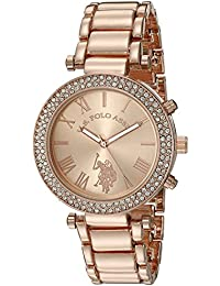 U.S. Polo Assn. Women's Quartz Rose Gold-Toned Dress Watch (Model: USC40170)