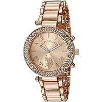 U.S. Polo Assn. Women's Quartz Rose Gold-Toned Dress Watch (Model: USC40170)