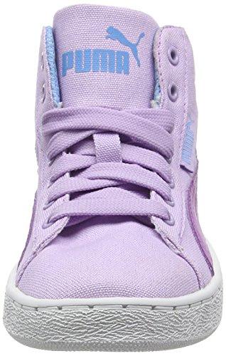 Puma 1948 Mid CV - Zapatillas de Deporte Niños Morado - Violet (Orchid Bloom/Purple Cactus Flower)