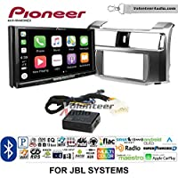 Volunteer Audio Pioneer AVH-W4400NEX Double Din Radio Install Kit with Wireless Apple CarPlay, Android Auto, Bluetooth Fits 2010-2013 Toyota 4Runner with Amplified System