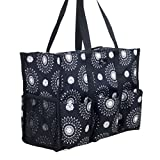 Pursetti Teacher Bag with Pockets for Teacher's Appreciation and Christmas (Cool Mandala)