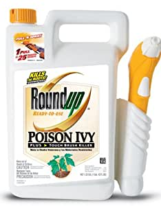 Roundup Poison Ivy Plus Tough Brush Killer Pull 'N Spray 1.33-Gallon 5002410