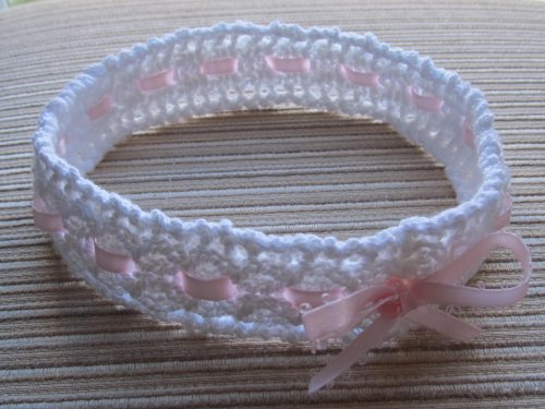 Knitting Pattern Mock Cable and Lace Headband