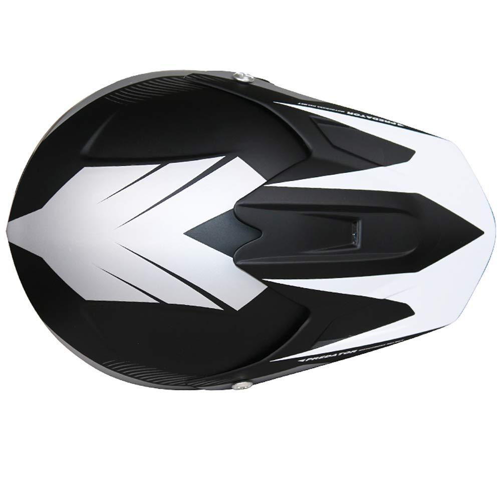 Leopard LEO-X19 Casco da Motocross per Bambini /& Occhiali e Guanti da Motocross per Bambini Cross e off-Road Motocicletta ATV Quadrilatero ECE 22-05 Approvato