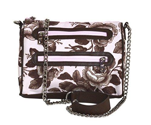Time Bag Ranger zipper Sloane Tea Chain Crossbody Fx0ZPIYn