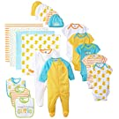 Gerber Unisex Baby 19 Piece Gift Bundle Set