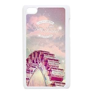 iPod Touch 4 Case White Way Of Travel P6U0UM