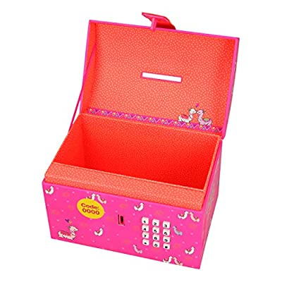 Depesche TopModel Alpaca 10291 Money Box with Code and Sound Pink: Toys & Games