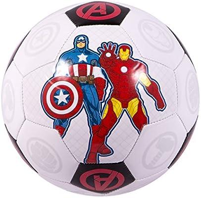 Marvel Comics Los Vengadores balón de fútbol, tamaño 4: Amazon.es ...