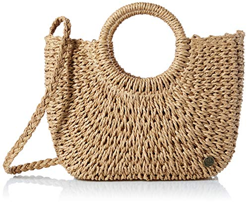 Billabong Women's Dream Weaver Straw Bag Natural One Size -