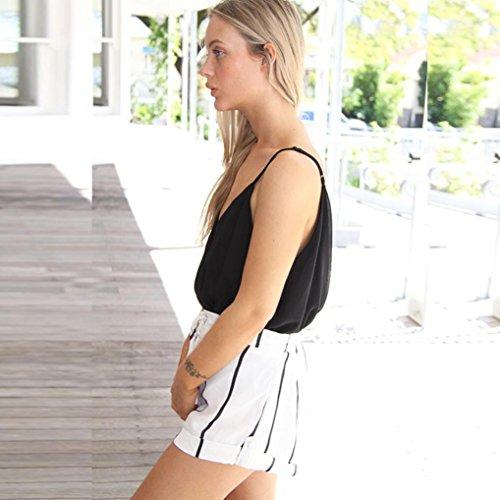 Ouneed® Femme Combi Design Jumpsuit Bralette Tops Plage Wear Suit