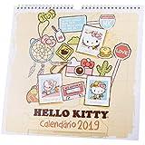 Calendário Parede - Hello Kitty - 2019