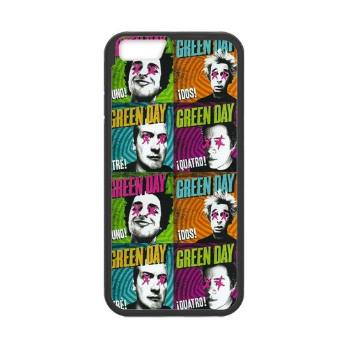 """Fayruz - iPhone 6 Rubber Cases, Green Day Hard Phone Cover for iPhone 6 4.7"""" F-i5G567"""