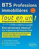 Bts Professions Immobilieres 2e Édition Programmes de 1re et 2e Annees