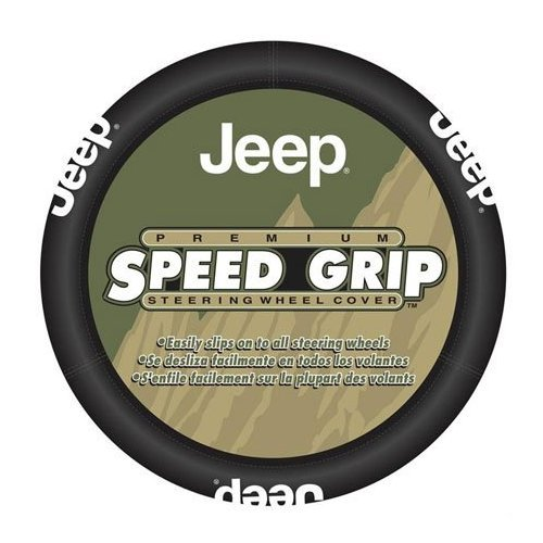 Jeep Steering Auto Wheel Cover With Bonus Air Freshener