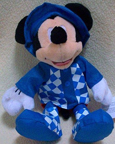 "Disney 6"" Plush Mickey Mouse in Rain Coat Doll Toy"