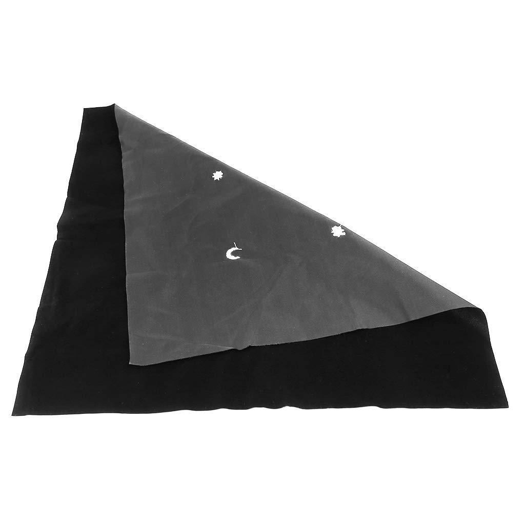 50 x 50 cm Sternenmond Samt-Tischdecke Astrologie Tarot-Zubeh/ör Brettspiel Stickerei Basteln Tarot-Zubeh/ör