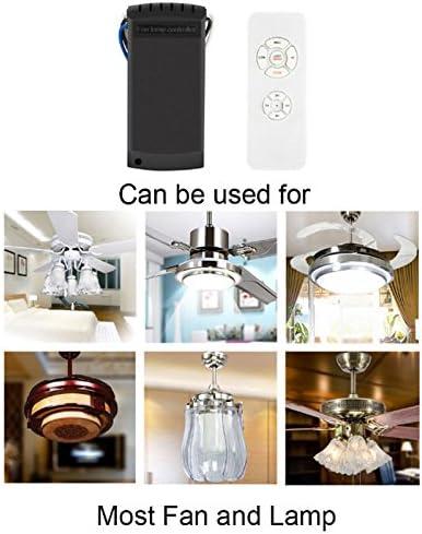 Crewell Mando Ventilador Techo universal, Kit de Mando a Distancia Universal para Lámparas de Techo, 110 - 220 V, 220v: Amazon.es: Hogar