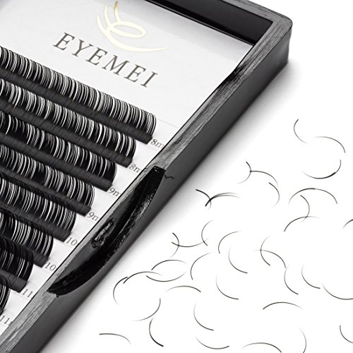 Large Product Image of D Curl Eyelash Extensions 0.15mm Eyelash Extensions Faux Mink Eyelash Extensions Fake Lash Extensions Individual 9-15mm Mixed Tray Salon Perfect Use by EYEMEI