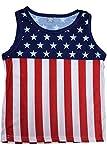 Exist Kids USA Flag Pride Sleeveless ShirtXL