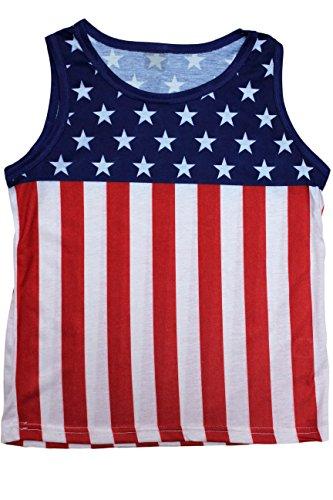 Exist Kids USA Flag Pride Sleeveless ShirtXL by Exist