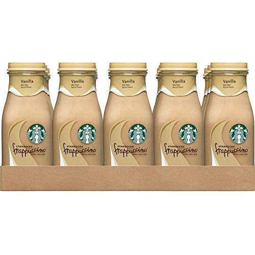 Starbucks Frappuccino, Vanilla, 9.5 Ounce Glass Bottles, 15 Count