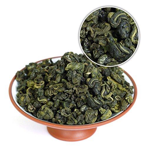GOARTEA 500g (17.6 Oz) Premium Organic SuZhou Bi Luo Chun BiLuoChun Spring Leaf Snail Chinese Green Tea (Snail) shape