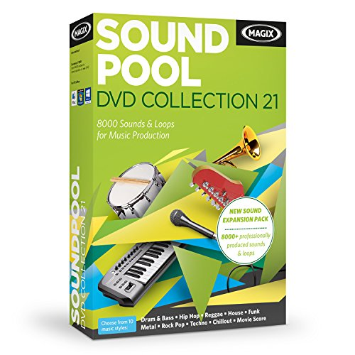 - MAGIX Soundpool DVD Collection 21
