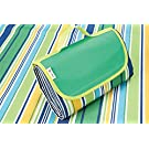 """e-Joy Beach Blanket Mat, Picnic Blanket, Water Proof Outdoor Mat, Camping Blanket 70""""x56"""" Water Resistant Top with Water & Stain Proof Bottom, Large Mat, Easy to Fold & Clean."""