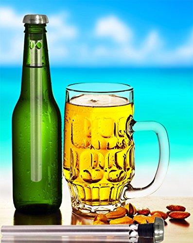 amazon com cool one beer chiller beverage cooling sticks keep